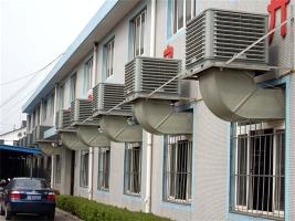 白市驛廣亞集團安裝冷風機