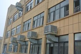 重慶巴王府食品有限公司安裝冷風機